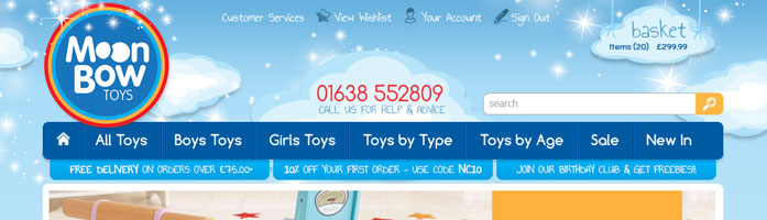 moonbow toys online shop