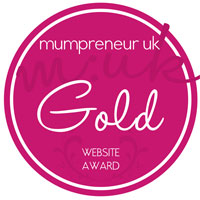 mumpreneur Gold award