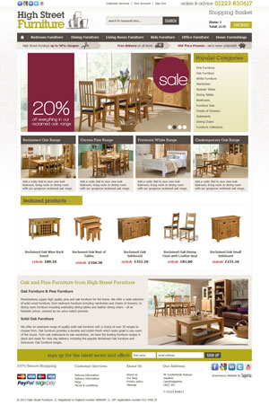high street furniture